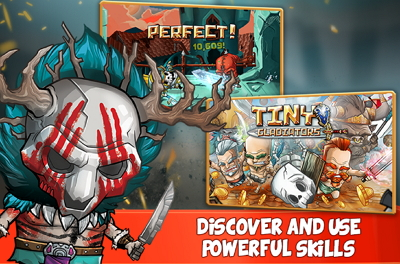 Download Game Tiny Gladiators APK Unlimited Money