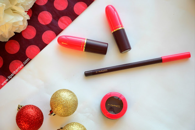MAC nutcracker sweet collection review