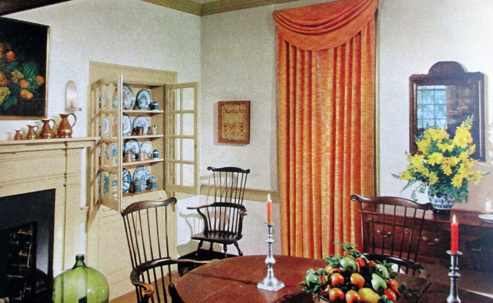 The Literate Quilter Decorating Ideas From Colonial