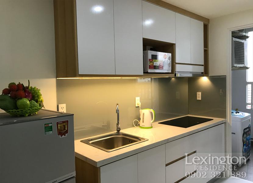 cho thuê căn hộ Lexington 1PN - Tủ bếp