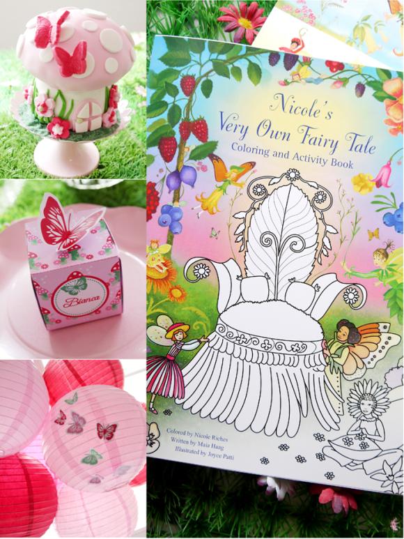 Sharing Ideas How to Style a Fairy Birthday Party - BirdsParty.com