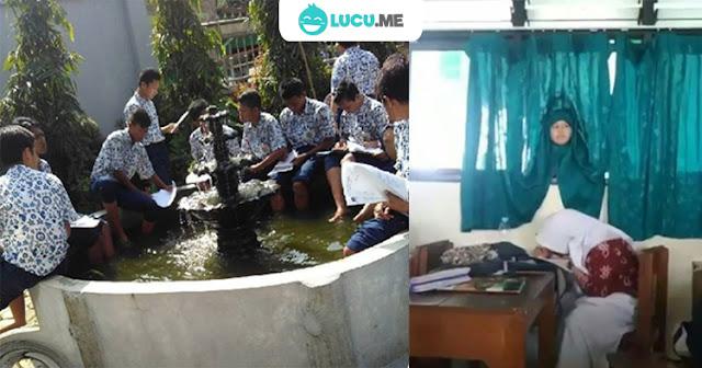 11 Kelakuan Absurd Pelajar Indonesia yang Bikin Tepuk Jidat