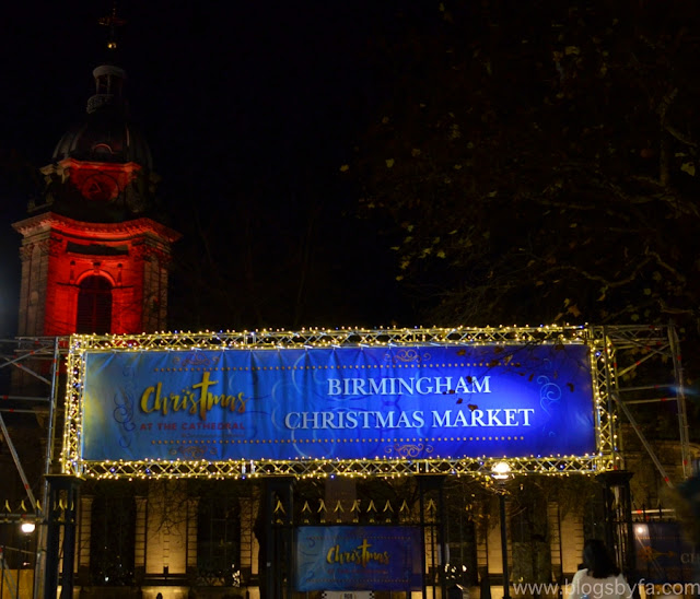 Birmingham Christmas Market at Birmingham Cathedral