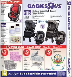 Babies R Us weekly Flyer November 17 - 23, 2017