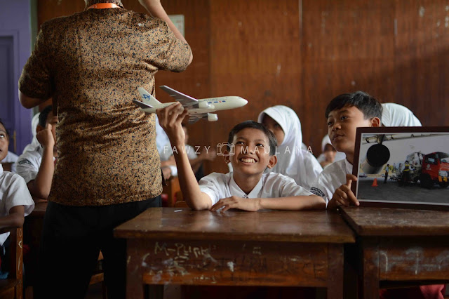 foto kegiatan relawan kelas inspirasi jakarta 5