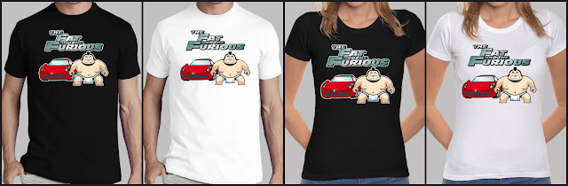 Camiseta FAT AND FURIOUS