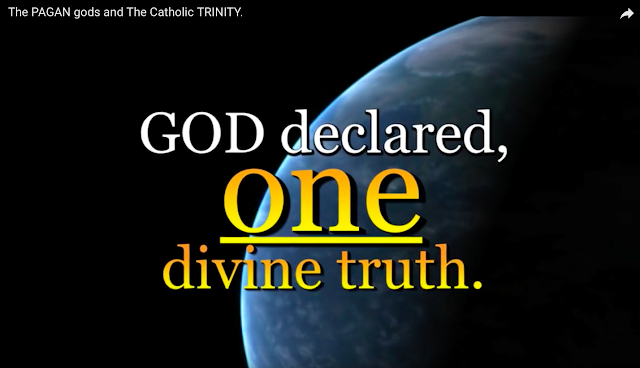 GOD declared one divine truth.