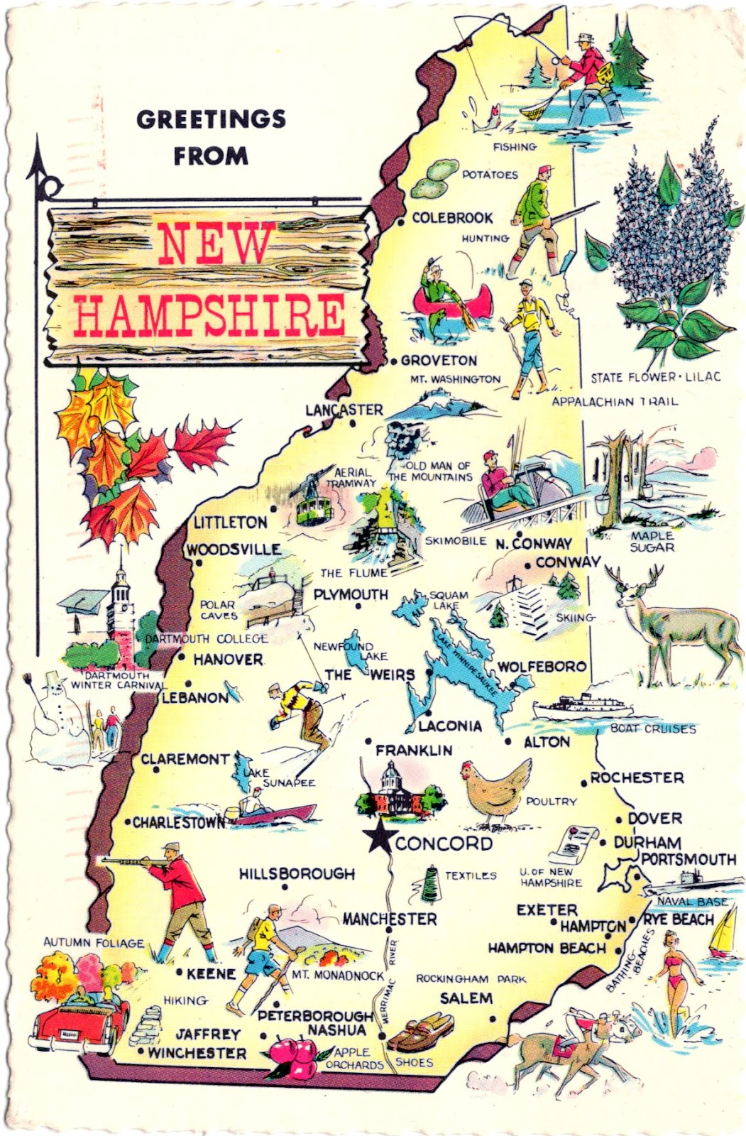 World Come To My Home United States New Hampshire