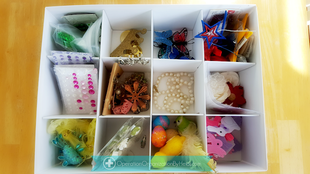 Peachtree City Professional Organizer :: Organized Hobby / Craft Room  Before and After Reveal