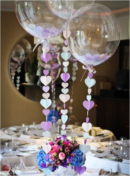 Wedding Decorations With Balloons And Flowers 22