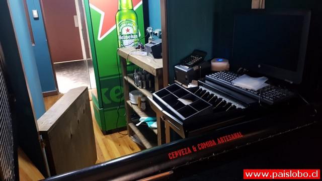 Osorno: Robo millonario afecta local del centro de la ciudad