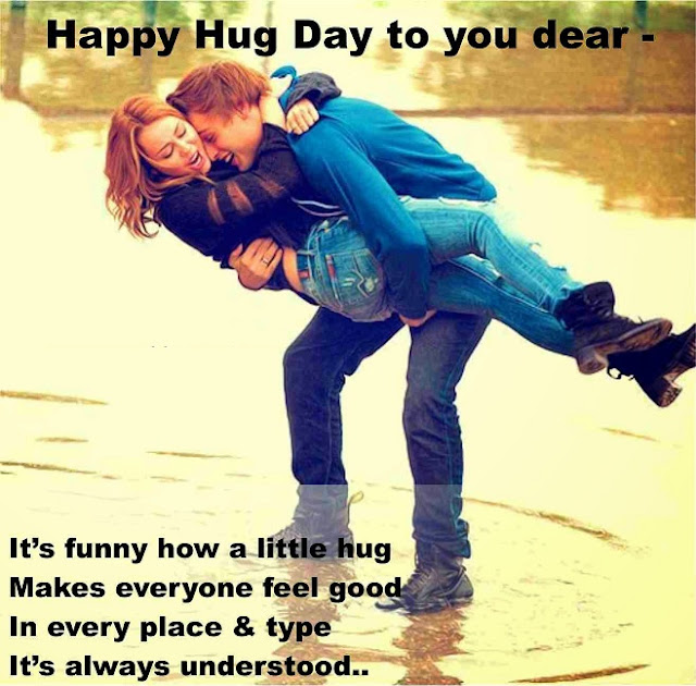 Happy Hug Day 2017 Messages