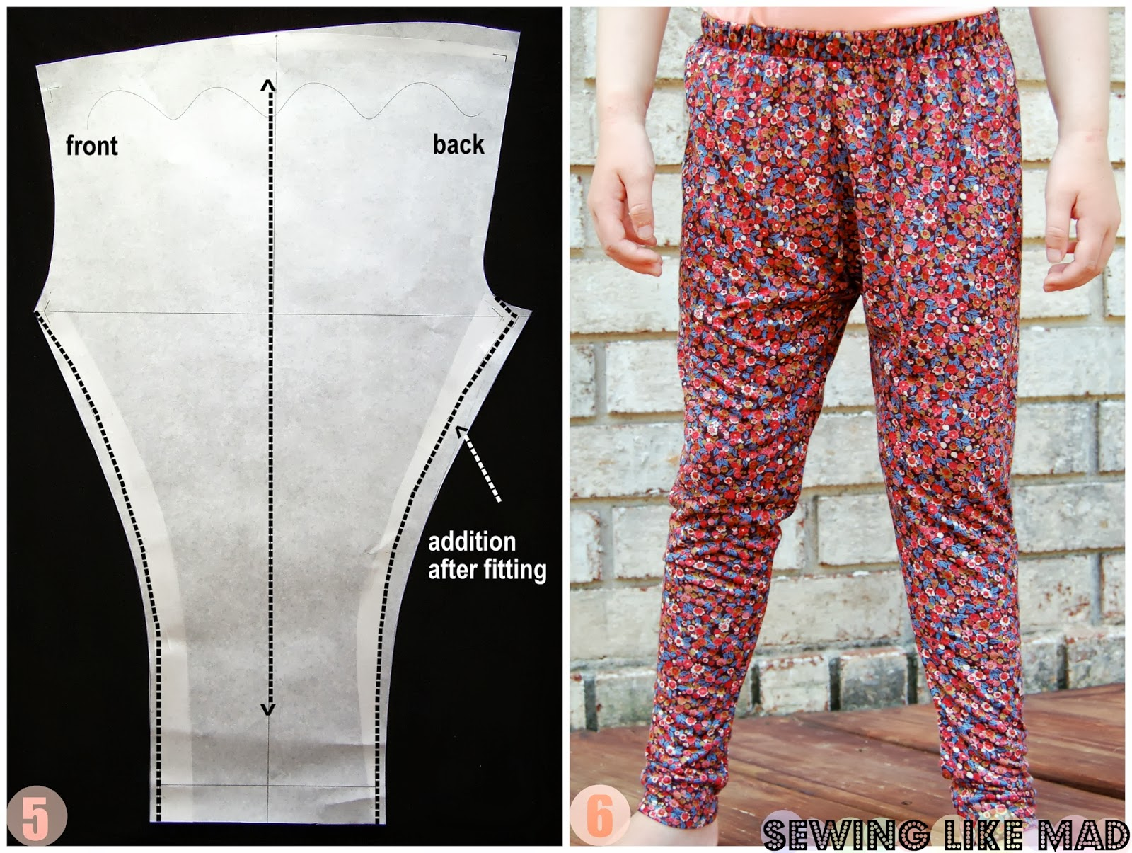Sewing Like Mad From Leggings To Slouchy Pants Easy