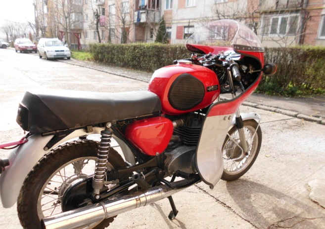 mz ts 250 cafe racer motorcycle modification styles new. Black Bedroom Furniture Sets. Home Design Ideas