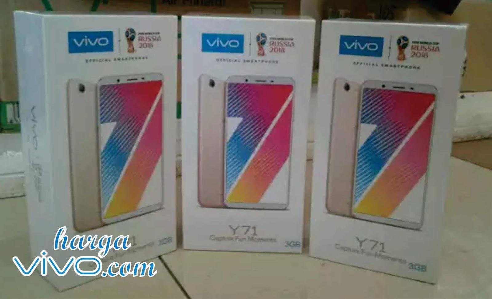 Harga Hp Vivo Y71 Terbaru 16 32gb Dan Ram 4 Gb