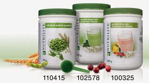 Manfaat Nutrilite Hi-protein Green Tea