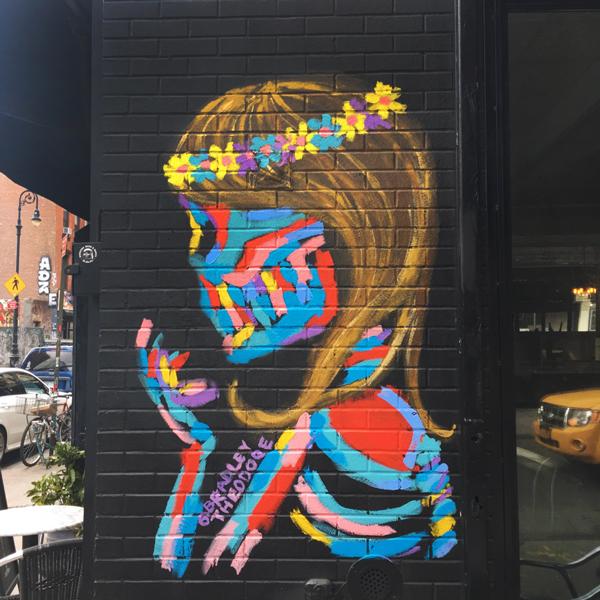 Bradley Theodore Street Art, Street Art NYC