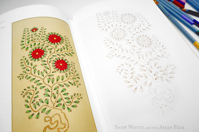 Minhwa Korean Folk Art Adult Colouring Book