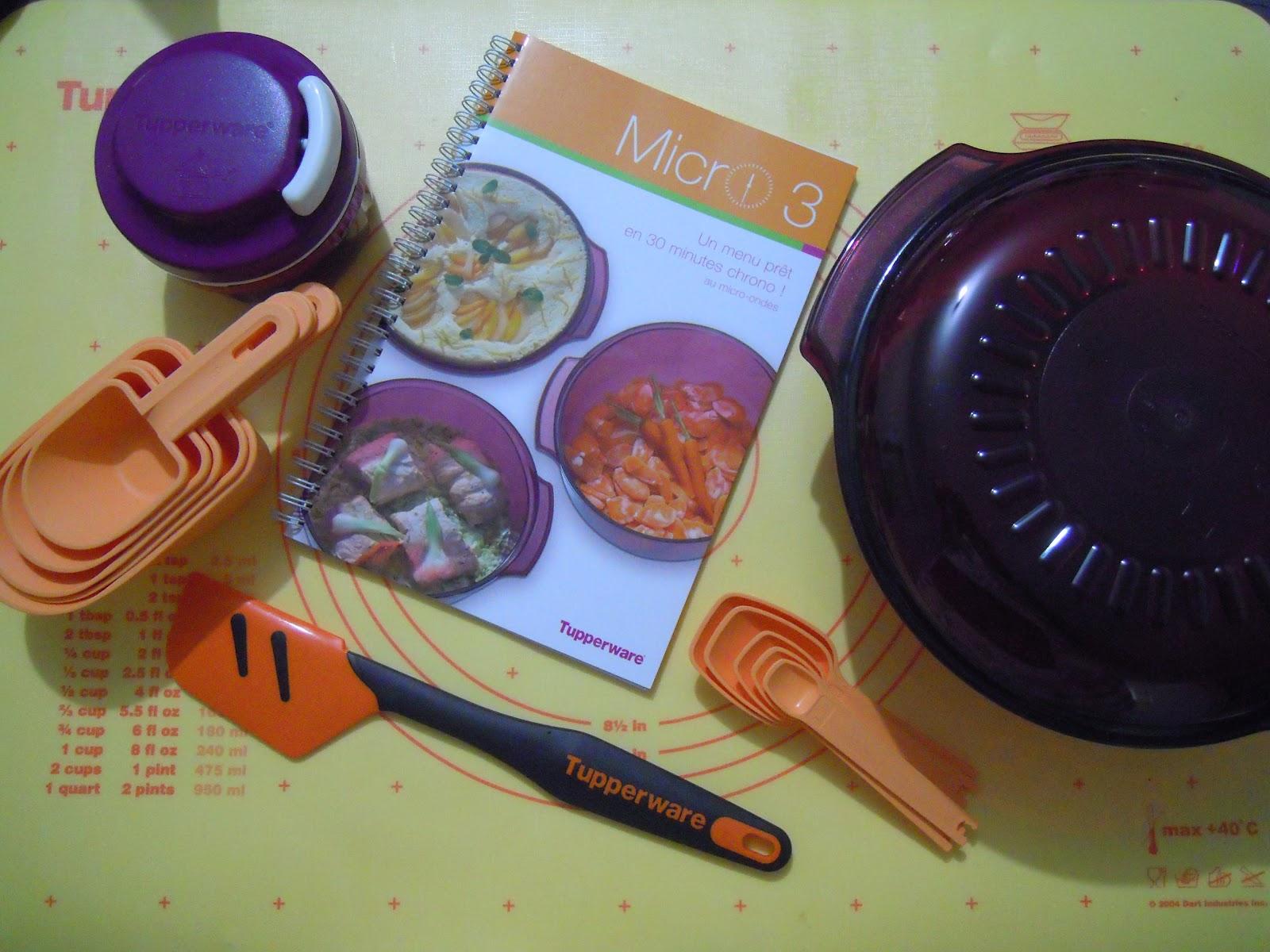 amelie gourmandises tupperware blogger