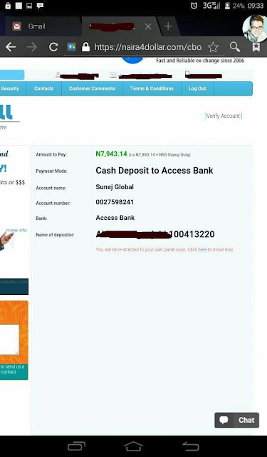 naira4dollar e-currency exchanger
