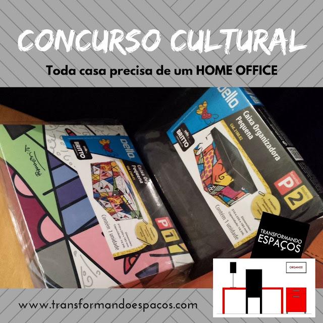 Concurso Cultural Toda casa precisa de um Home Office