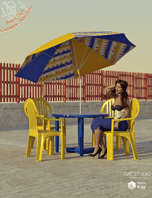 Beach Cafe Outdoor Furniture