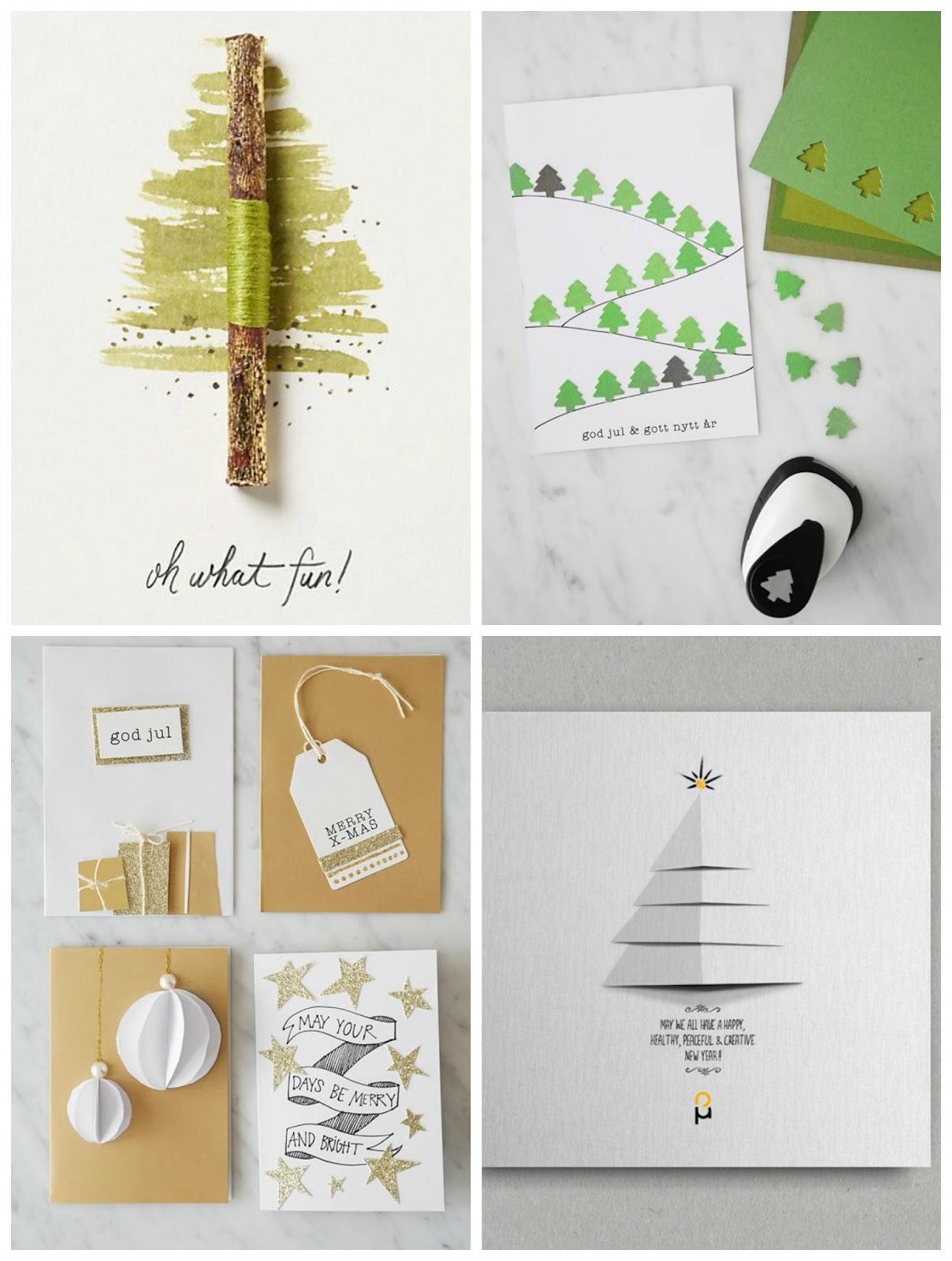 Robienie kartek na Święta Bożego Narodzenia