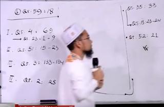 Ustadz Adi Hidayat membahas tentang mewujudkan target akhirat