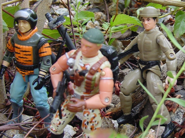 Sokerk, Argentina Exclusive, Plastirama, European Exclusive Tiger Force Sneek Peek, 2004 Caucasian Desert Stalker, Midnight Chinese, Unproduced Figures