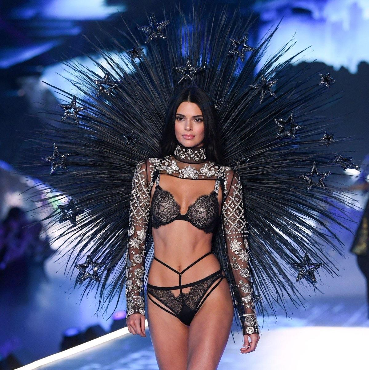 Kendall Jenner in Victoria Secret Fashion Show