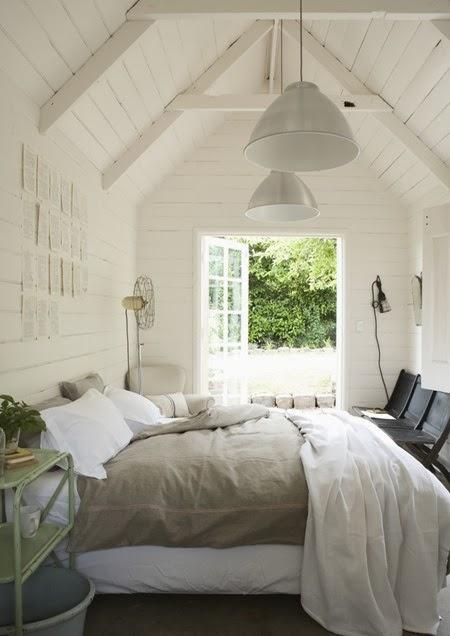 White Beam Ceiling