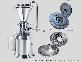 contoh alat colloid mill dalam bahan pangan