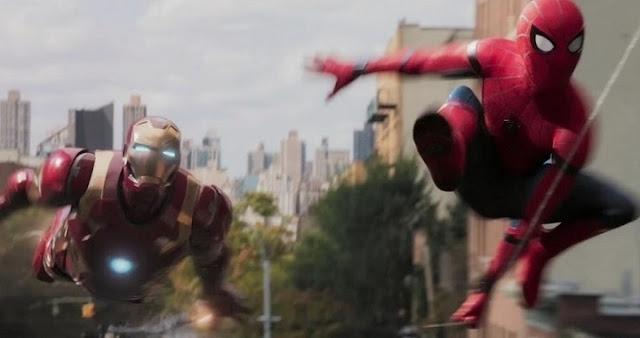 Iron Man en el tráiler de Spider-Man: Homecoming