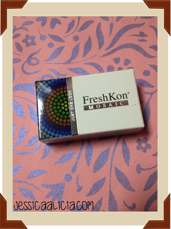 Review : FreshKon Mosaic - Urban Grey Softlens by Jessica Alicia