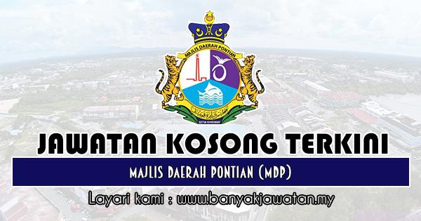Jawatan Kosong 2019 di Majlis Daerah Pontian (MDP)
