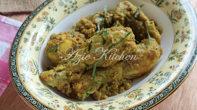 Rendang Ayam Cili Padi Yang Sedap