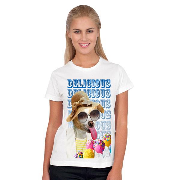 T-shirt femme personnalisé sur Kooneo