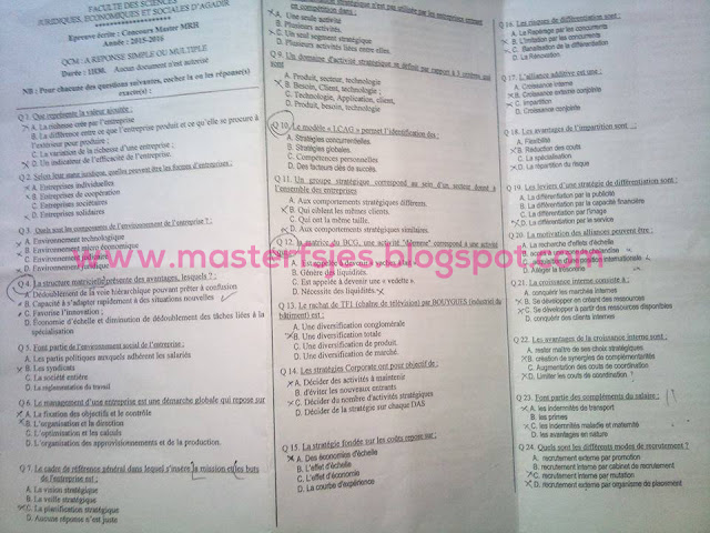 Master Management des Ressources Humaines