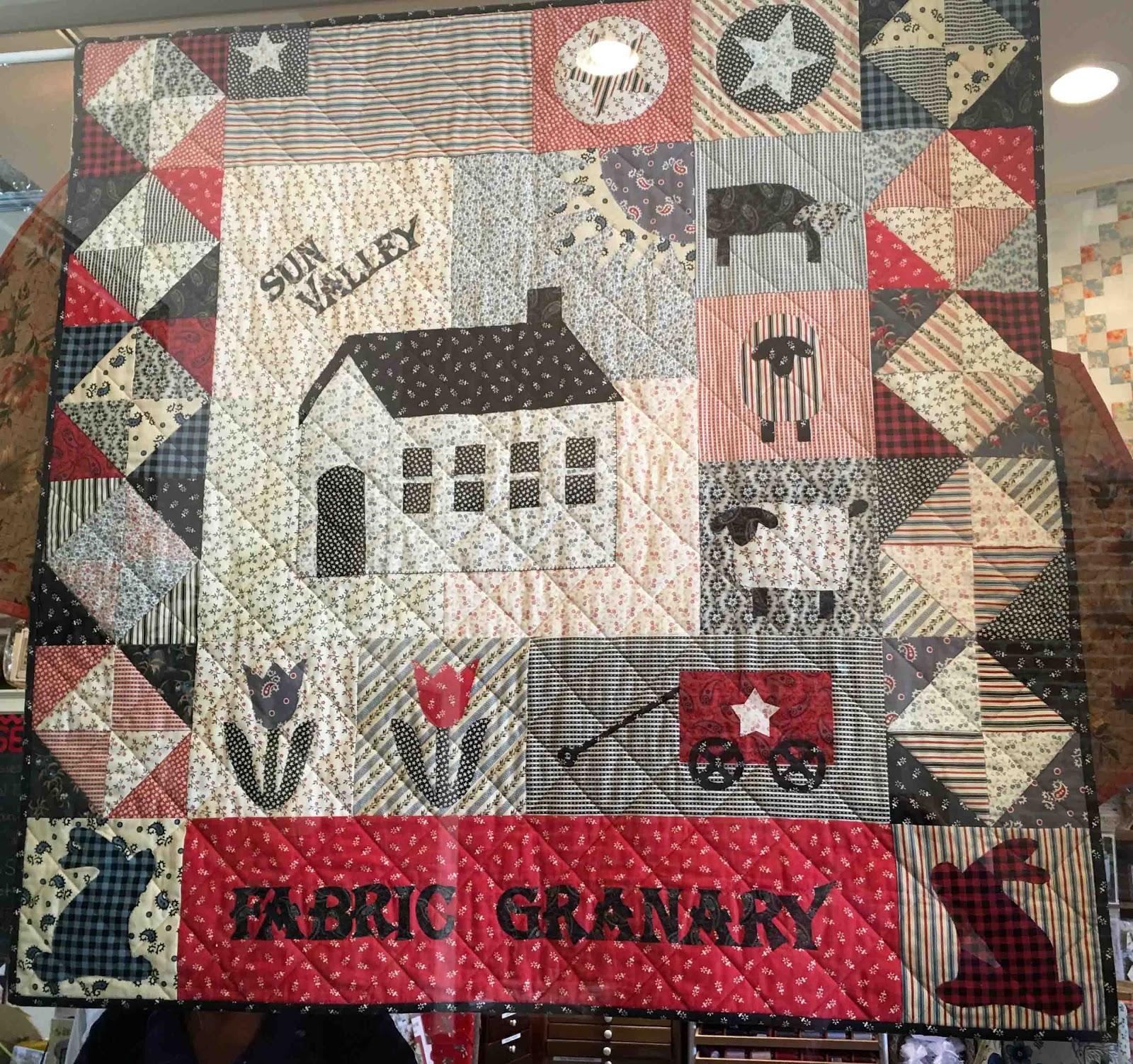 Cat Patches: Quilt Shop: Sun Valley Fabric Granary, Hailey, Idaho : idaho quilt shops - Adamdwight.com