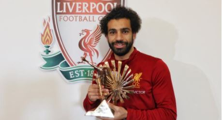 Liverpool Star Mohamed Salah Wins BBC African Footballer Of The Year 2017 Award!