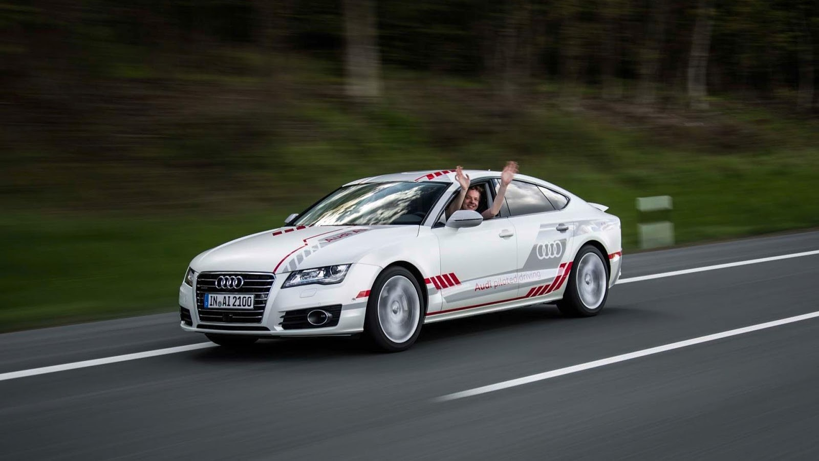 Audi Piloted Driving >> Audi A7 Piloted Driving Concept Ms Blog