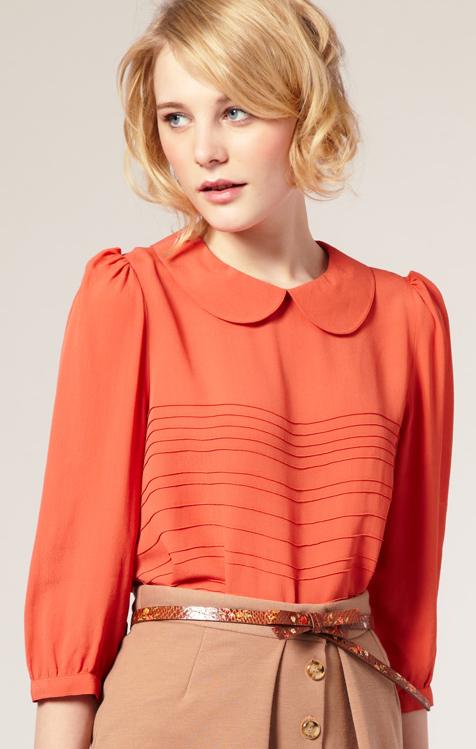 Fashion For Linda Asos Pintuck Front Shell Top