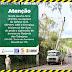 Serviços de poda e supressão de árvores na rodovia dos Tabajaras (PB 018) em Conde iniciam nesta quarta