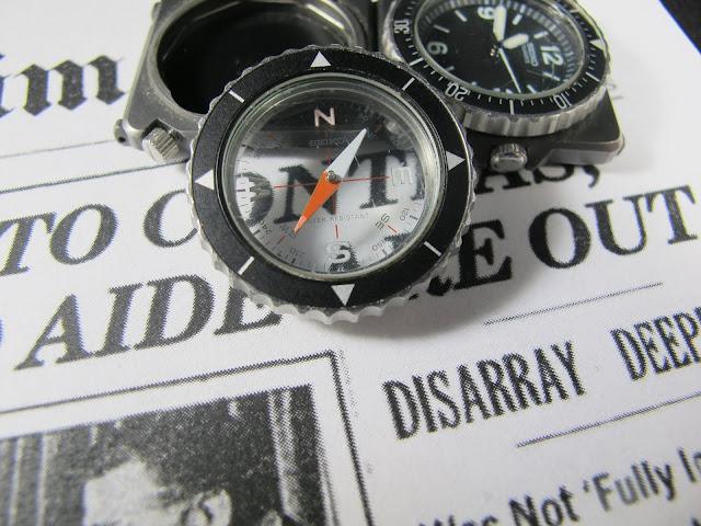 1983 Seiko 2C21-0080 Compass