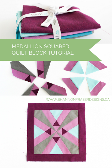 Cloud9 New Block Blog Hop - Medallion Squared sfDesigns