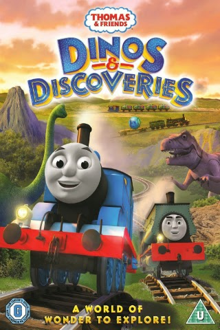 Thomas & Friends: Dinos and Discoveries [2015] [DVD FULL] [NTSC] [Latino]