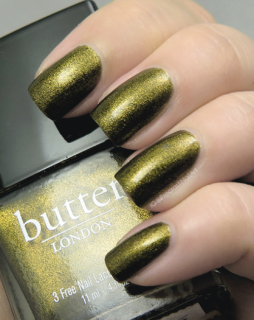 Butter London Wallis swatch
