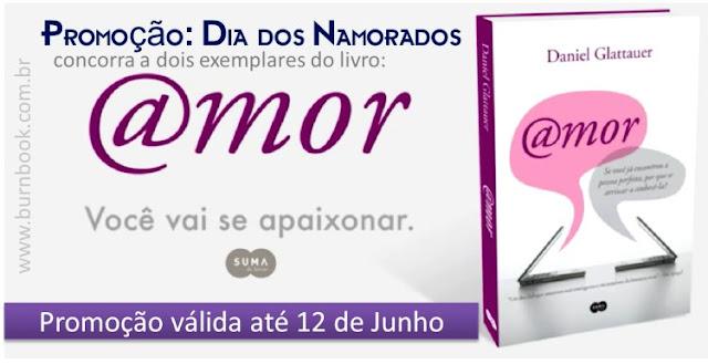 Promo: Concorra a dois exemplares do livro @amor, de Daniel Glattauer. 7