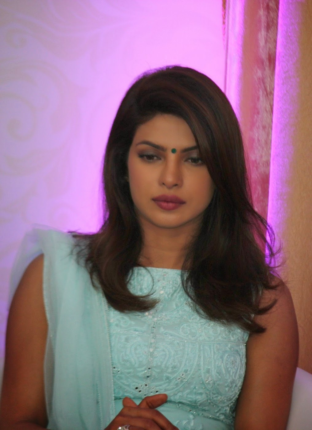 Priyanka Chopra Spicy Sad Face Closeup Stills