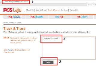 Cara Cek Tracking Number Poslaju